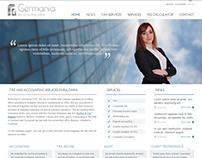 Germania website design