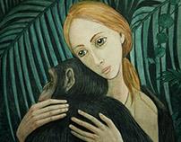 "Jane Goodall ""Mujeres 3"""