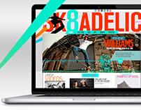 Skate Website Mockup