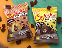 Hilal Cupkake Chunky Packaging Design & Campaign Launch