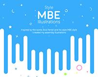 #2 MBE Style Illustration