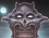 Dark Fantasy Game Menu