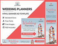 Wedding Planner Banner - HTML5 Ad Templates