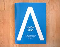 Simon Sans - A Typographic Journey from A to Z