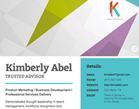 Kimberly Abel Professional Site