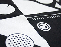 Berlin Boombox Black Shirt