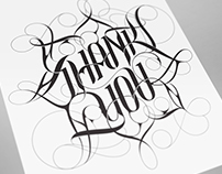 Thank You–Lettering