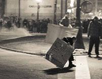 Huelga del 14N: de noche