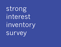 strong interest inventory survey