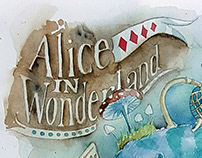 Alice in Wonderland. A Tale in a single image