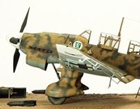 Junkers Ju87B-2 Trop. Stuka Dive-Bomber