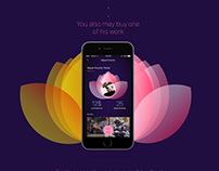 Lotus. App for young artists