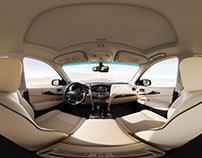 Infiniti Qx60 Interior 360°