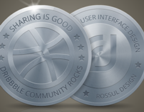 Dribbble coin :)