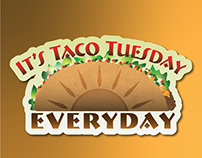 Taco Sticker Project