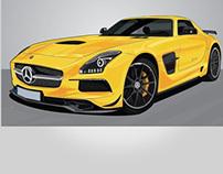 Mercedes Benz - SLS AMG Black Series