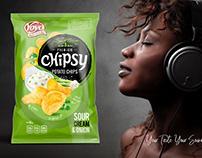 Chips family-line, packaging design