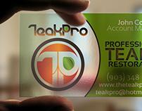 Branding — Teak Pro