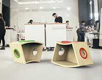 FLiP - Modular stool