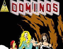 Dominos Double Feature B&W Comic Book