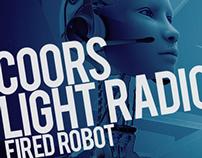 .Coors Light   Fired Robot