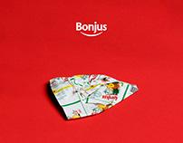 Bonjus #3xTheFun // Ad campaign