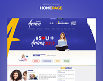 Colégio Ânima 2017 - Website Responsivo