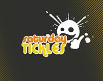 Saturday Tickles logo animation.