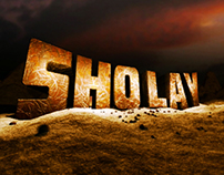 Sholay logo animation