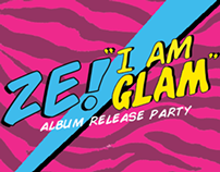 I AM GLAM Flyer Design
