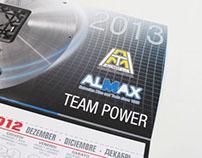 Alumat Almax Group 2013 Calendario parete