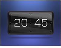 Flip Clock.