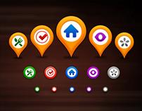 Qiito Map Pin Icon
