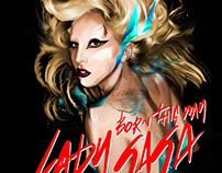 Lady Gaga from Icon project
