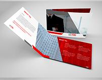 Brochure for the TSG company.