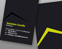 Architecte Salvatore Cavallo / Business Card