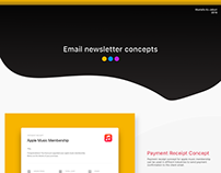 Email templates concept