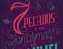 Book Cover - Os 7 Pecados e os Fantasmas de Enailliel