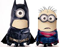 Superhero minions