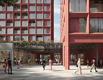 Port Popowice tower   Competition   3rd prize