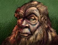 Bigfoot's high school picture!