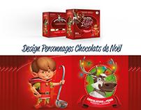 Design de Personnages de Noël