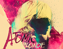 """Atomic Blonde"" film poster design competition."