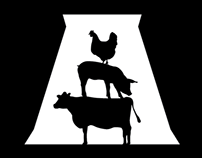 Radford's Meat Market Logo Design