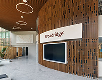 Broadridge Office Bangalore By Enterspace