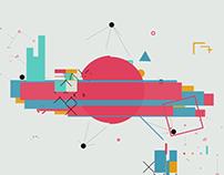 Digital shape logo