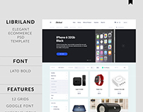 LibriLand | Ecommerce Web Design
