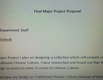 Final Major Project Proposal