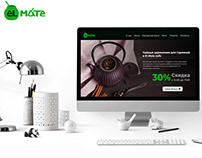Creation of a site for the restaurant Kiev El Mate Cuba