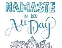 Namaste In Bed